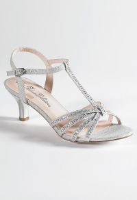 Low Heel Rhinestone Sandal from Camille La Vie and Group ...
