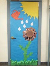 Spring Classroom Door Decoration | Spring door decorations ...