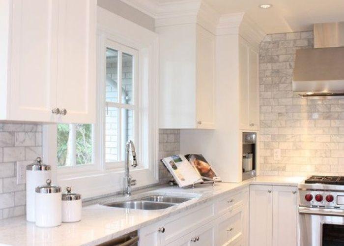 Kitchen renovation love  white also house pinterest