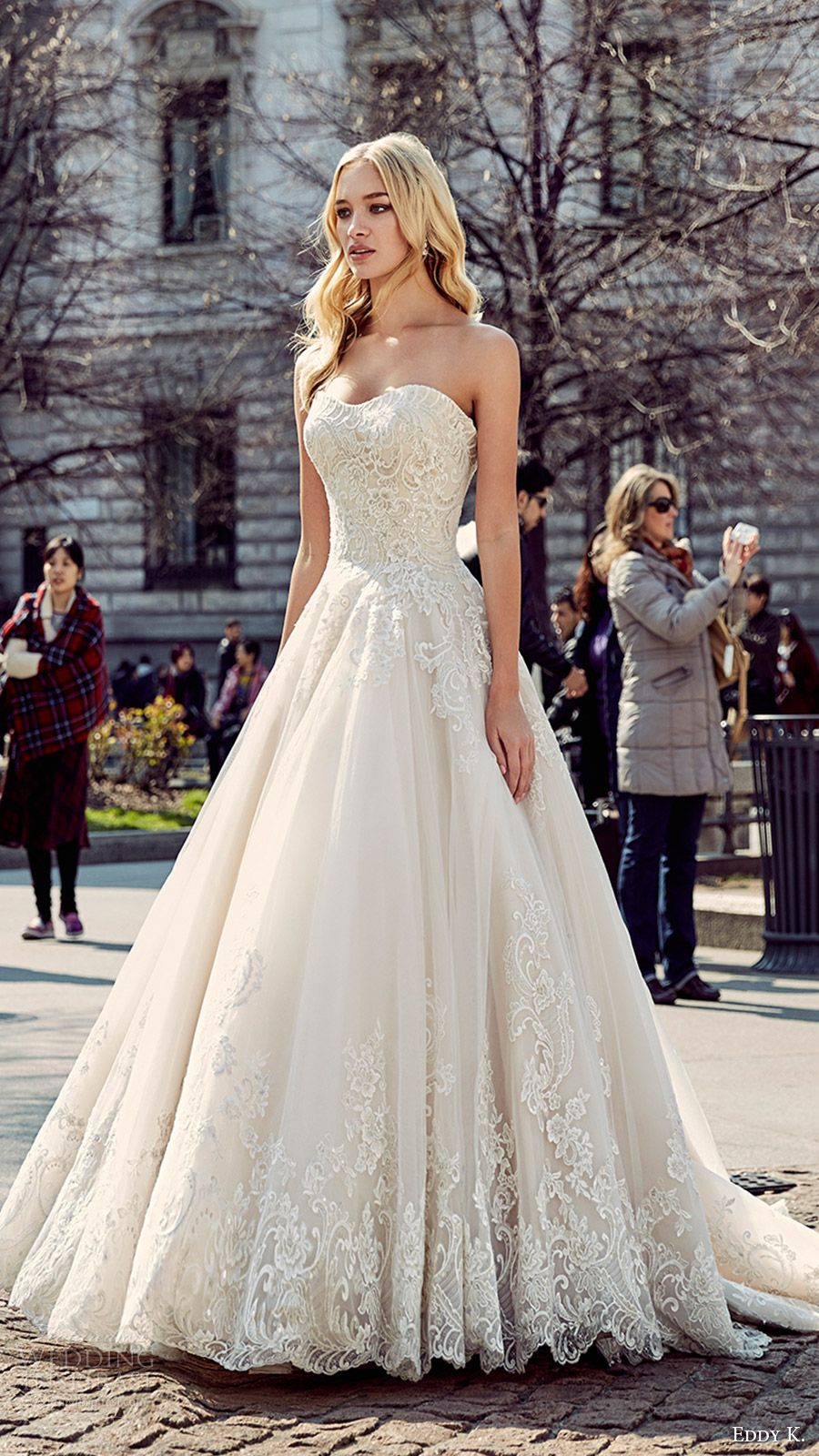Eddy K. 2017 Wedding Dresses  Milano Bridal Collection