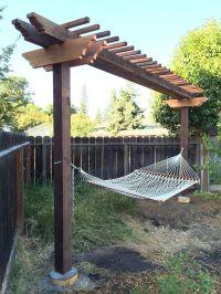 Hammock Arbor | Yard | Pinterest | Arbors
