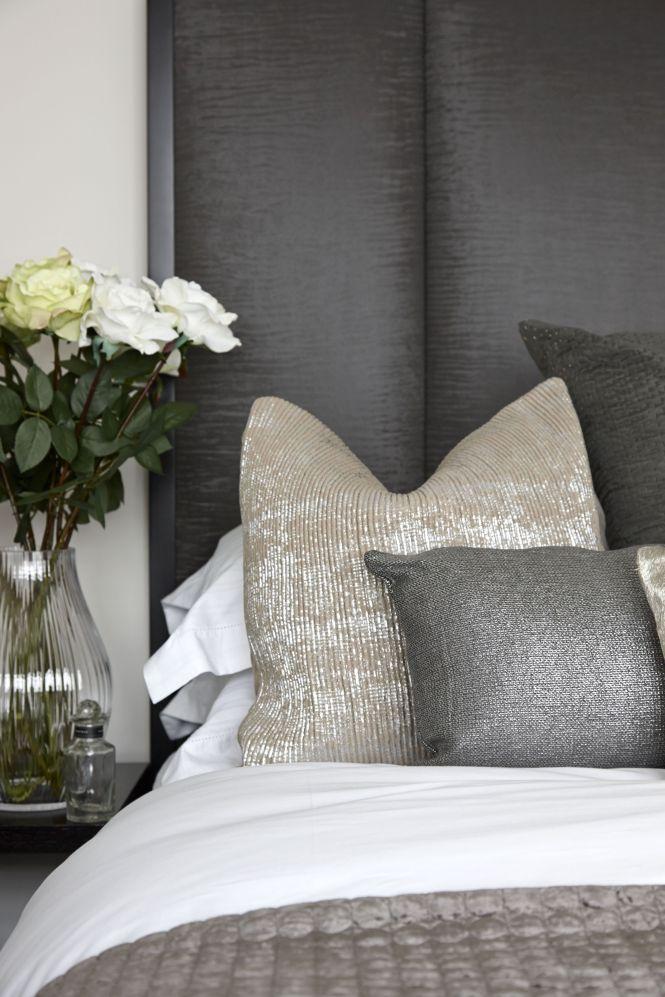 Bedroom 1 Cushion Headboard Detail