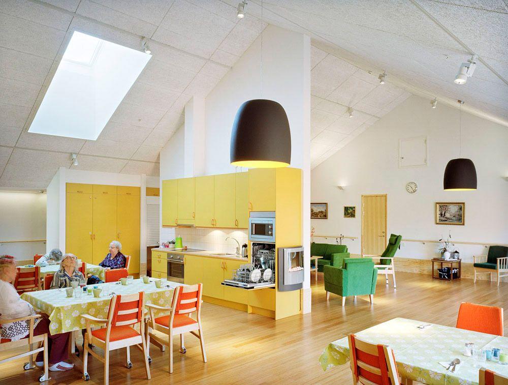 A Nursing Home In Norra Vram Sweden Senior Living Spaces