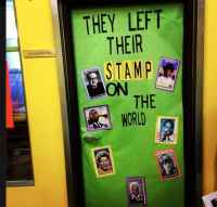 Black History Month door decoration | classroom ...