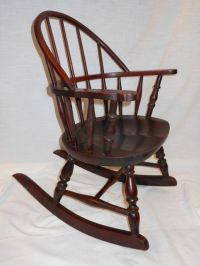 Antique Windsor Rocking Chair | Antique Furniture