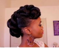 Pictures Of African American Hairstyles For Weddings