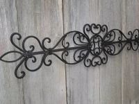 Wrought Iron Wall Decor | Wall Art | Pinterest | Wrought ...