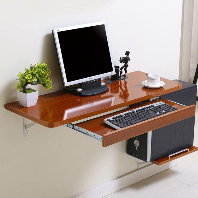 Simple home desktop computer desk simple small apartment