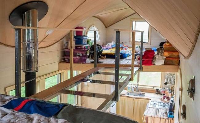 The Pequod Is A Whale Of A Tiny House For Family Of Four