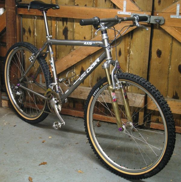 Wadsy' 1993 Diamondback Axis Team Titanium Bikes