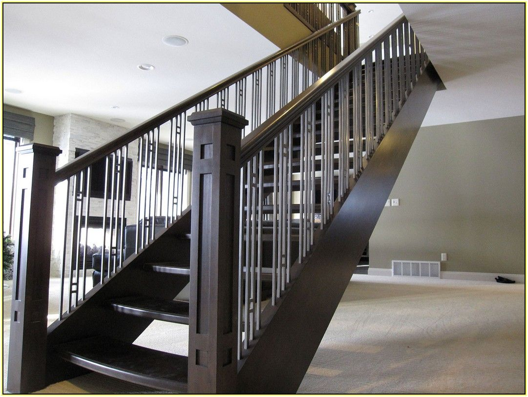 Stair : Contemporary Stair Railing Contemporary Stair