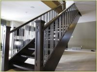 Stair : Contemporary Stair Railing Contemporary Stair