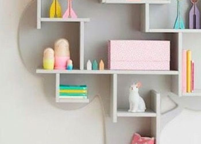 Easy enough diy book shelf wood from homede or lowes paint hang also pin by dora  on kids space pinterest bottle painting and spaces