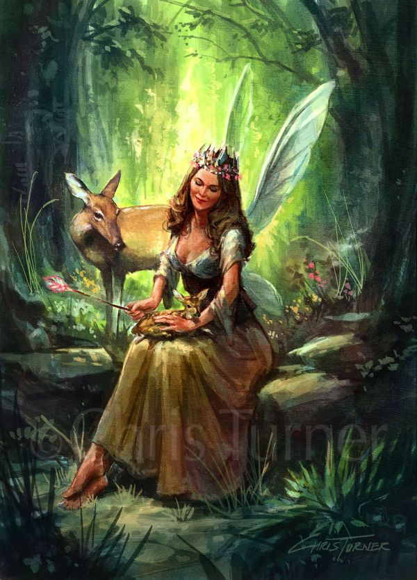 Result Woodland Fairy Art Enchanted Fairies Mermaids & Magic