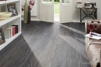 grey slate tile effect laminate flooring installing ...