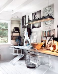 creative workspace ideas inspiration for designing  home office studio or craft also workspaces and rh pinterest