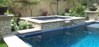 pool tile designs | Pool water fountain design ideas small ...