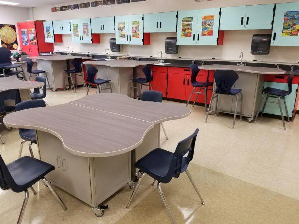 Elementary STEM Lab Furniture