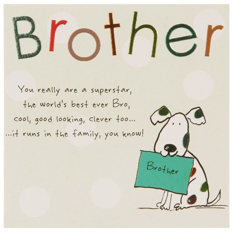 Brother Birthday Cards Google Search CARDS Pinterest