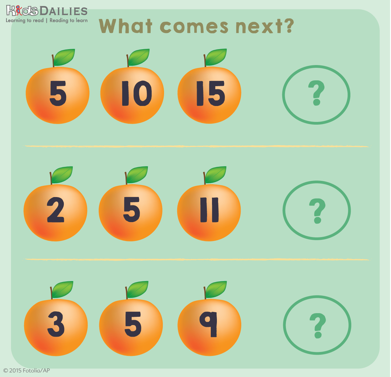 Daily7 Chinese New Year Orange Maths Games For Children