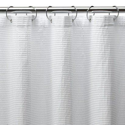 InterDesign Carlton Shower Curtain Target Shower Curtains White