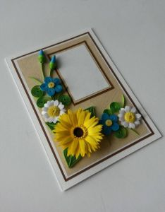Handmade paper quilling greeting card  am so proud of you by fromquillingwithlove pinterest and also rh