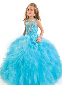 turquoise kids bridesmaid dresses - Google Search   Preeti ...