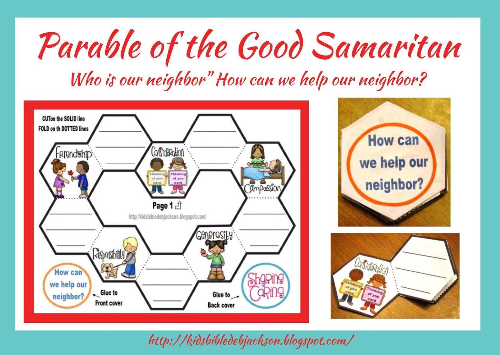 Bible Fun For Kids Parable Of The Good Samaritan