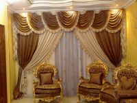 Luxurious Living Room Curtains | Luxury Curtain Designs ...