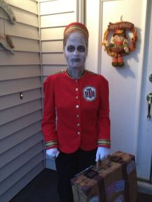 Diy Halloween Costume- Tower Of Terror Bellhop. Red Jacket