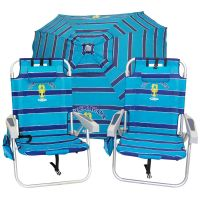 Tommy Bahama Beach Chair and Umbrella Set. Ready now