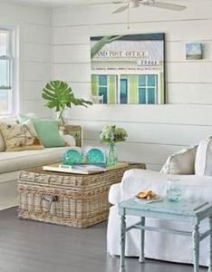 coastal living room ideas beach themes color palettes also rh pinterest