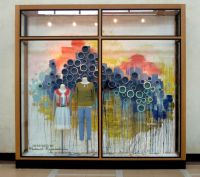 Anthropologie, Spring 2012 Window Display. Theme: Abstract ...