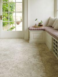 Salem Grey Honed Limestone. A smooth surface highlights ...
