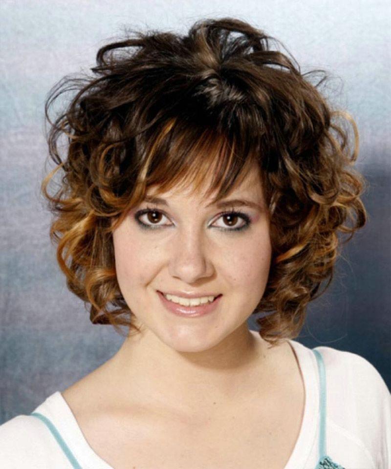 Short Layered Wavy Hairstyles With Bangs  Hair