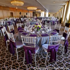 Purple Chair Sashes For Weddings Resin Adirondack Chairs Canada And Silver Wedding On The 80th Pinterest