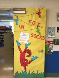 Fox in Socks classroom door   classroom   Pinterest ...
