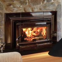 various kinds of awesome wood burning fireplace insert ...