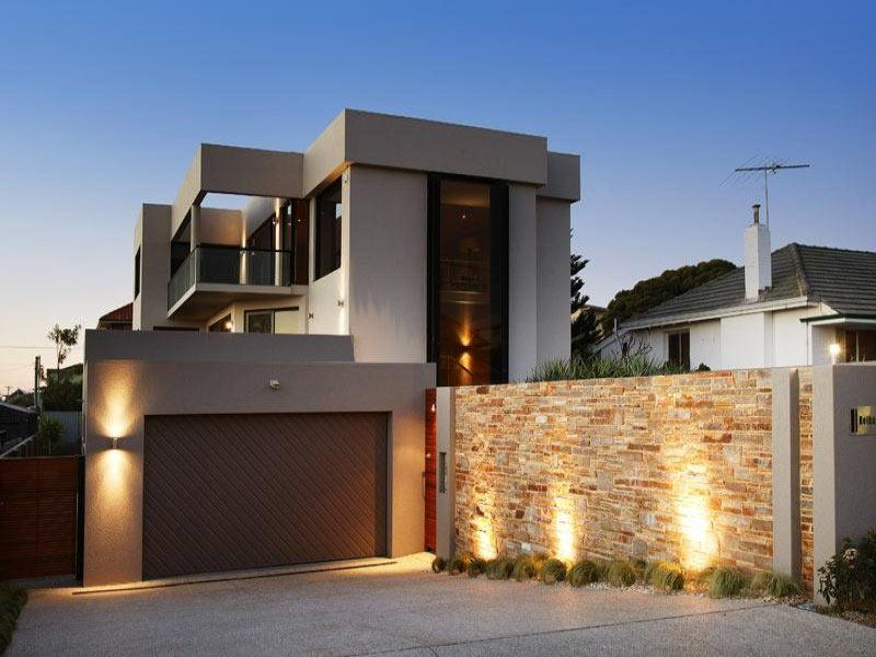 Photo Of A Concrete House Exterior From Real Australian Home