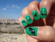 5 killer 'jurassic park' manicures