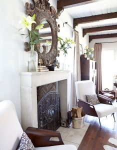 Inside  charming square foot bungalow in los angeles also rh pinterest