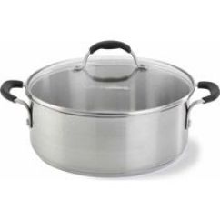 Calphalon Kitchen Essentials Dutch Oven Rugs Target Walmart Cooking With Stainless Steel 5 Quart We And Clean The Counter Stovetop Respectively After Are Finished