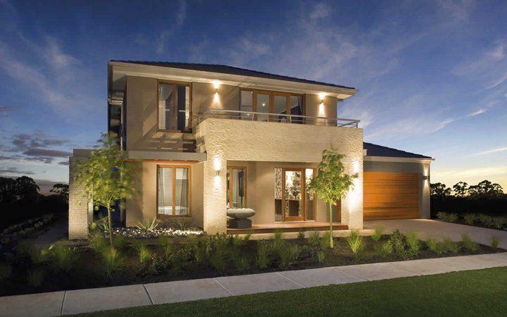 Modern House Facade Design With Simple Small Garden Ideas My