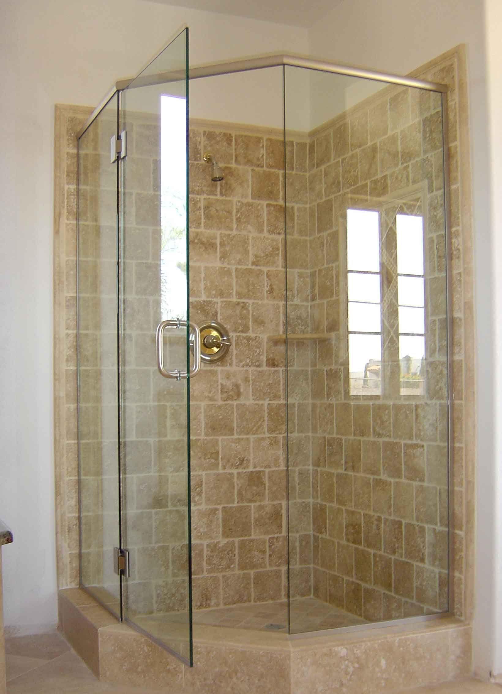 Neo Angle Corner Shower Stalls With Door