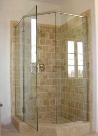 Upstairs bathroom: Corner Shower    Pinteres
