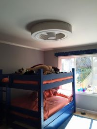 Bunkbeds? Low ceilings? No problem with a BLADELESS ...