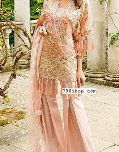 2364d02ddc Designers peach chiffon suit buy sobia nazir pakistani dresses and clothing  online in usa uk also