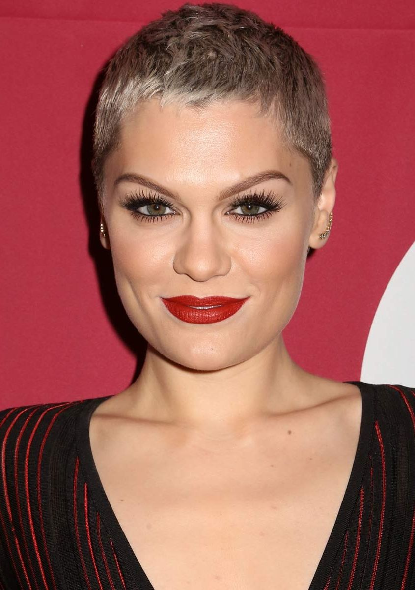Jessie J Pixie Short Haircuts Hair Color Shades Of Blonde Trendy
