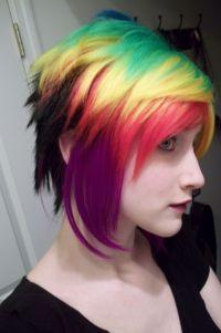 Multi-colored hair | Multi-colored hair | Pinterest | Hair ...