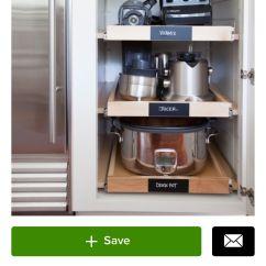 Kitchen Appliance Shelf Mobile Island Small Storage Pinterest